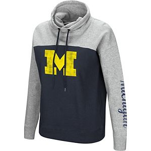 Women's Colosseum Michigan Wolverines Pullover Hoodie