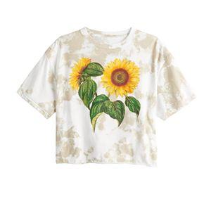 Juniors' Sunflower Tee