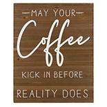 Stratton Home Decor Coffee Reality Wall Art