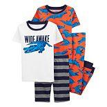Boys 4-14 Carter's Alligator Tops & Bottoms Pajama Set