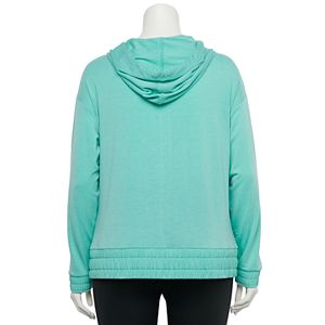 Plus Size Tek Gear® French Terry Hooded Jacket