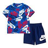 Toddler Boy Nike Sportswear Futura Logo Tee & Shorts Set