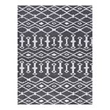 KHL Rugs Tania Contemporary Geometric Shag Area Rug