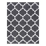 KHL Rugs Jeni Transitional Geometric Shag Area Rug