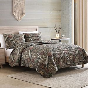Mossy Oak Break Up Infinity Camouflage Quilt Set with Shams