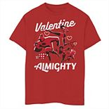 Disney / Pixar's The Incredibles Boys 8-20 Family Valentine Almighty Graphic Tee