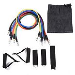 3P Experts 3PX-FA11 Fitness Resistance Bands - Pack of 11