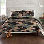 Urban Playground Covert Camo Comforter Set with Shams