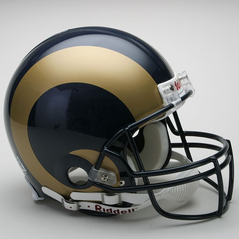 Riddell St. Louis Rams Collectible On-Field Helmet