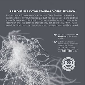 CosmoLiving Organic Cotton Prime Feather Fiber Comforter