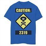 Disney / Pixar's Monsters University Boys 8-20 Caution 2319 Graphic Tee