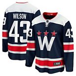 Men's Fanatics Branded Tom Wilson Navy Washington Capitals 2020/21 Alternate Premier Breakaway Player Jersey