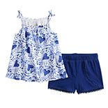 Toddler Girl Jumping Beans® Printed Tank & Shorts Set