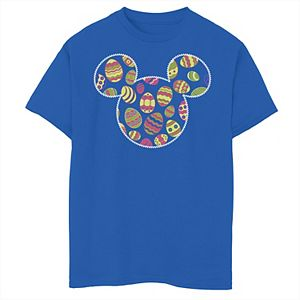 Disney's Mickey & Friends Boys 8-20 Mickey Mouse Easter Egg Fill Graphic Tee