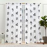 Nicole Miller New York Mabel Sheer 2-pack Window Curtain Set