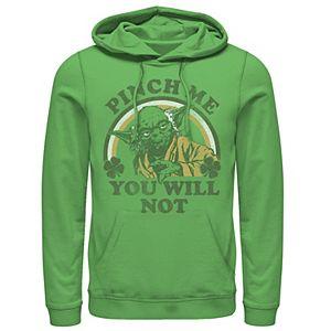 Men's Star Wars Yoda Pinch Me You Will Not Hoodie