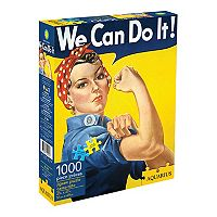 Aquarius Smithsonian Rosie the Riveter 1000 Piece Jigsaw Puzzle