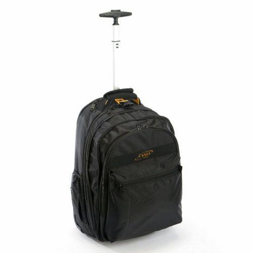 A.Saks Expandable Wheeled Laptop Backpack