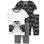 Boys 4-14 Carter's Monster Truck Tops & Shorts Pajama Set