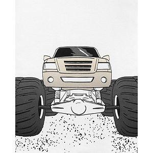 Boys 4-14 Carter's Monster Truck Tops & Shorts Pajama Set