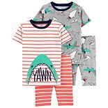Boys 4-14 Carter's Shark Top & Bottoms Pajama Set