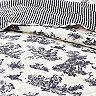 Hawthorne Park Toile Reversible Quilt Set with Shams
