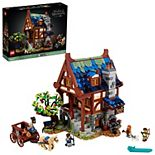 LEGO Ideas Medieval Blacksmith 21325 LEGO Set (2,164 Pieces)