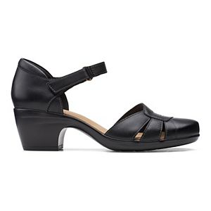 Clarks® Emily Daisy Women's Leather Sandals