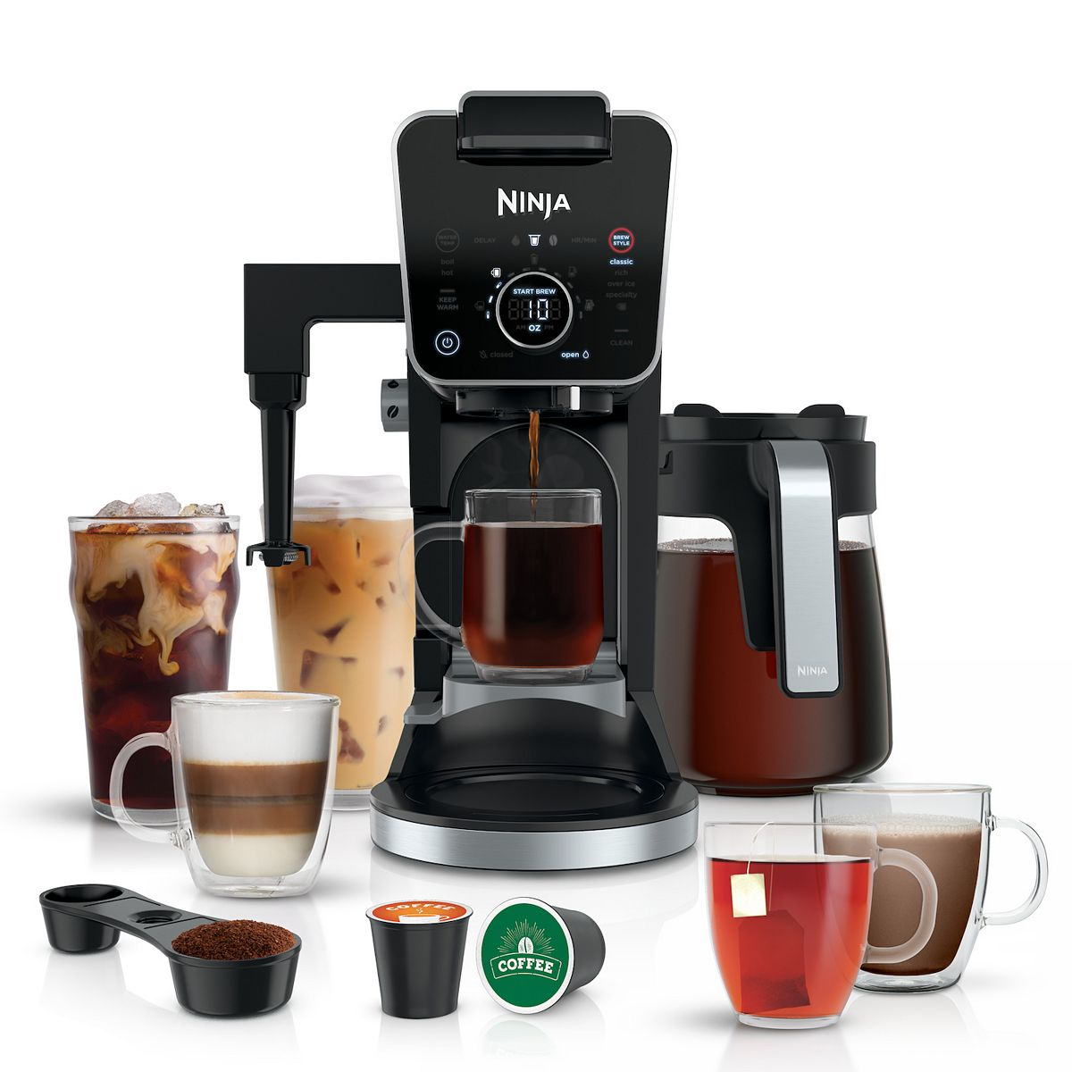 Ninja DualBrew Pro Specialty Coffee System! 9.99 (REG 9.99) + Free Shipping with code SAVE15NOW at Kohl's!