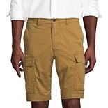 Big & Tall Lands' End 10.5-Inch Comfort-First Knockabout Cargo Shorts