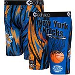 Youth Ethika Blue New York Knicks Classic Boxer Briefs