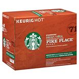 Starbucks Pike Place Decaf Coffee, Keurig® K-Cup® Pods, Medium Roast - 24-pk.