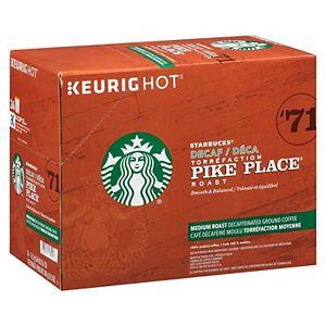 Starbucks Pike Place Decaf Coffee, Keurig® K-Cup® Pods, Medium Roast - 24-pk.