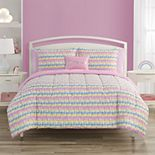 Threaded Peace Out Comforter Set with Throw Pillows