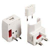 Travelon Worldwide Adapter & USB Charger