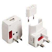 Travelon Worldwide Adapter & USB Charger