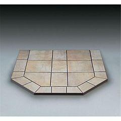 American Panel 40 dl C Panneau de poêle à double coupe Carmel Tile 40 po x 40 po