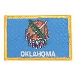 FoxOutdoor 84P-636  State  Country & Specialty Patches pack of 12