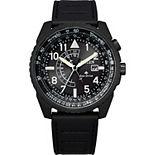Men's Citizen Eco-Drive Men's Promaster Nighthawk Leather Watch - BJ7135-02E