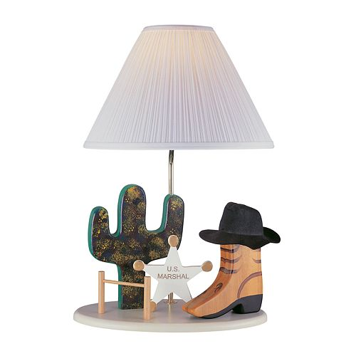 Cowboy Table Lamp