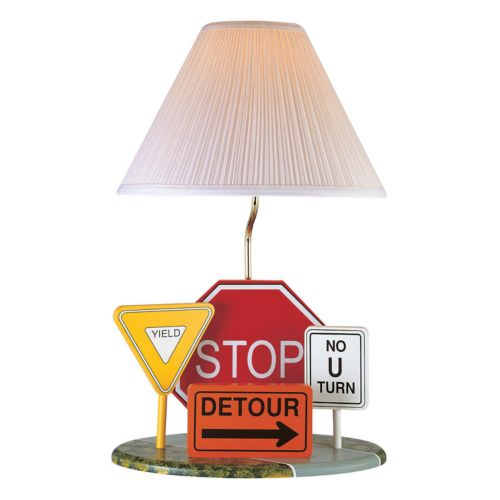 Highway Signs Table Lamp