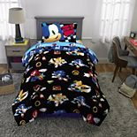 Sega Sonic The Hedgehog Super Sonic Speed Complete Bedding Set