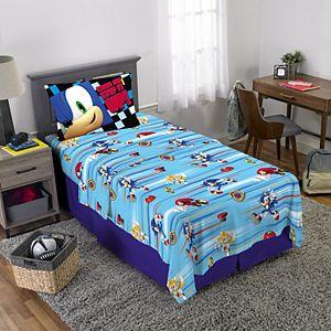 Sega Sonic The Hedgehog Super Sonic Speed Complete Bedding Set