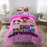 MGA LOL Surprise Soft Remix Complete Bedding Set