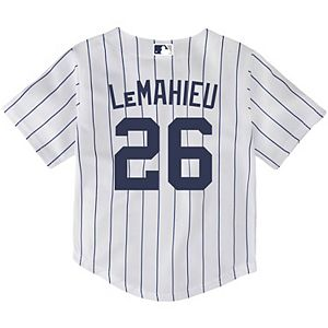 Toddler Nike DJ LeMahieu White New York Yankees Home 2020 Replica Player Jersey