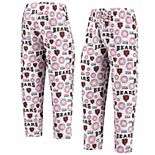 Men's Concepts Sport White Chicago Bears Zest Patriotic Sleep Pants