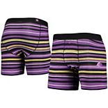 Men's Stance Purple Los Angeles Lakers Pivot Boxer Briefs
