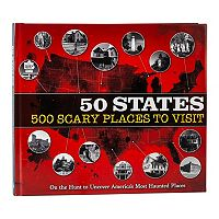 50 States: 500 Scary Places To Visit Coffee Table Book Deals