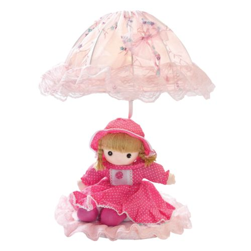 Doll and Parasol Table Lamp