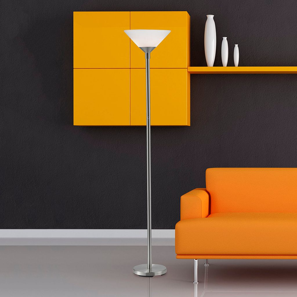 Adesso Aries Torchiere Floor Lamp